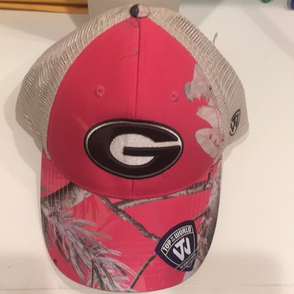 NWT Pink Georgia Hat. NWT. Top of the World 095f8ee7110